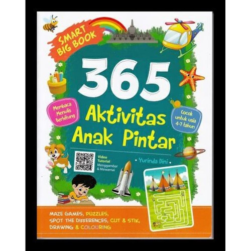 Foto Produk Smart Big Book 365 Aktivitas Anak Pintar dari Toko Kutu Buku