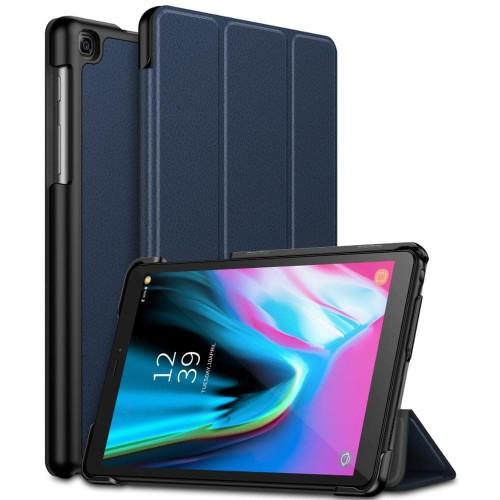 Foto Produk silicon casing soft flip cover samsung tab A 8 2019 T290 T295 - Merah dari societyacc