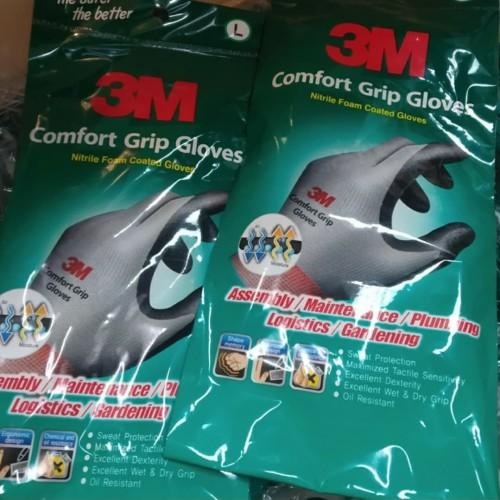 Foto Produk 3M Comfort grip gloves - Sarung tangan size L / promo sarung tangan 3m dari SOLOMONIC INDONESIA