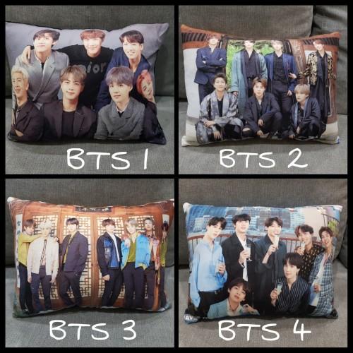 Foto Produk Bantal BTS ukuran 27x36cm grup dan member dari Bantal Kenangan