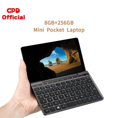"""Foto Produk GPD Pocket 2 8GB 256GB 7"""" Slim Laptop Gaming Mini Komputer PC Netbook - Grey dari Toko hamder"""