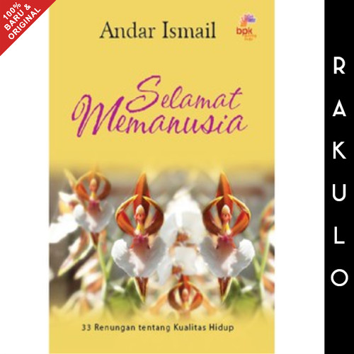 Foto Produk Buku Selamat Memanusia - Andar Ismail dari Rakulo
