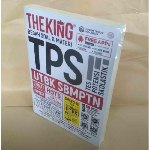Foto Produk Buku The King Bedah Soal & Materi TPS UTBK SBMPTN HOTS dari CendoleBook