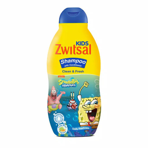 Foto Produk Zwitsal Kids Shampoo Active Blue 180ml dari Nic Shop