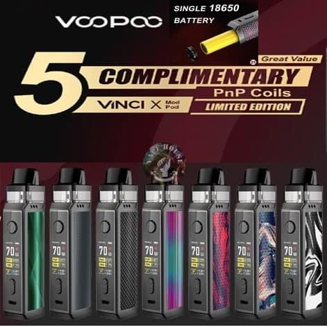 Foto Produk Authentic VOOPOO VINCI X 70W Pod Mod Starter Kit dari VapeOi