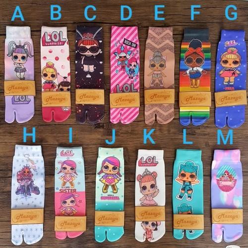 Foto Produk kaos kaki anak motif LOL dari mazaya bandung