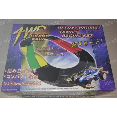 Foto Produk Track Tamiya 4WD Grand Prix - 2 Jalur - Jalanan Tamiya - NEW!!! dari apa saja ada loh