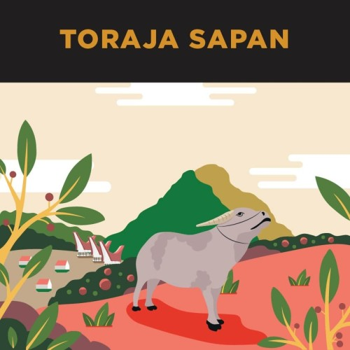 Foto Produk Kopi Single Origin Arabica Toraja Sapan 250gr dari Gerilya Coffee