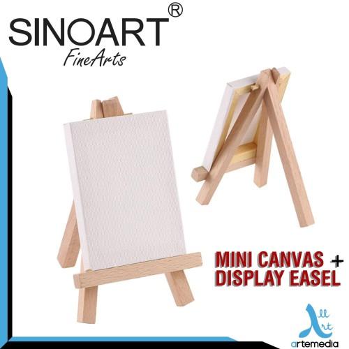 Foto Produk Sinoart Mini Canvas + Display Easel dari Artemedia Shop