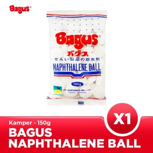 Foto Produk Bagus Naphthalene Ball 150 gr dari Bagus Official Store