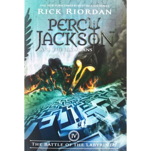 Foto Produk PERCY JACKSON & THE OLYMPIANS #4: THE BATTLE OF THE LABYRINTH dari Kikkerland Official