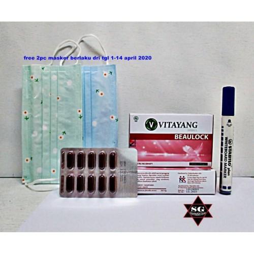 Foto Produk Vitayang Beaulock Vitamin C & E untuk Imunitas tubuh dari supermarket grosir