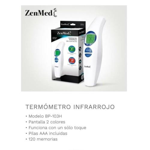 Foto Produk Thermometer Digital Alat Pengukur Suhu Tubuh Thermometer Gun Zenmed dari Nic-cell