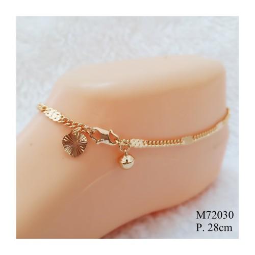Foto Produk Gelang Kaki Rantai Dewasa Anti Karat Missi Fashion Jewelry M72030 dari Missi Fashion Jewelry