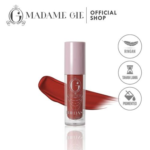 Foto Produk Madame Gie Brilliant Glaze Lip Liquide - Lip Gloss - Strawberry dari Madame Gie Official