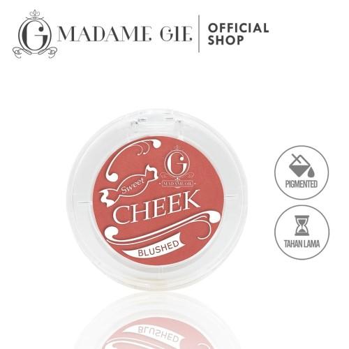 Foto Produk Madame Gie Sweet Cheek Blushed - Blush On - Cheek Satu dari Madame Gie Official