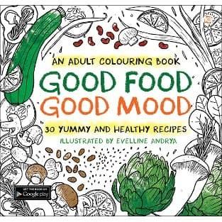 Foto Produk Good Food Good Mood - an adult coloring book dari Toko Kutu Buku