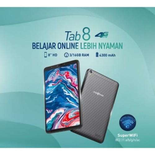 Foto Produk Advan Tab 8 3/16 Ram 3GB Internal 16GB Garansi Resmi dari dk-cell
