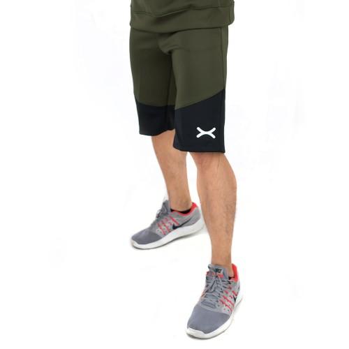 Foto Produk FLEXZONE Celana Pendek Selutut Pria Gym Lari Jogging FCS-003AR - L dari FLEXZONE