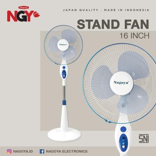 Foto Produk Kipas Angin Berdiri / Stand Fan NAGOYA 16Inch NG-16SF dari Nagoya Electronics