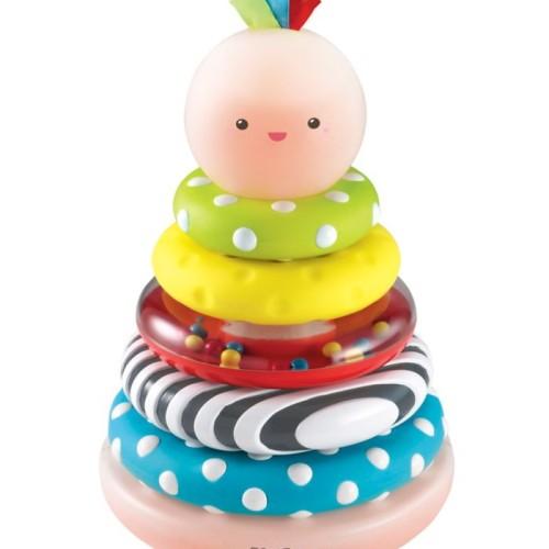 Foto Produk ELC Little Senses Glowing Stacking Rings dari Mothercare Official Shop