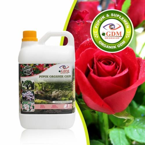 Foto Produk Pupuk Bunga Mawar Organik GDM 2L dari GDM Official Store