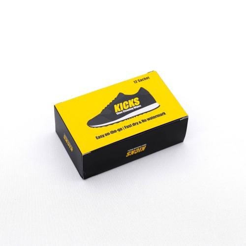 Foto Produk Kicks Shoe Cleaning Wipes - 12 Sachet dari KICKS Official