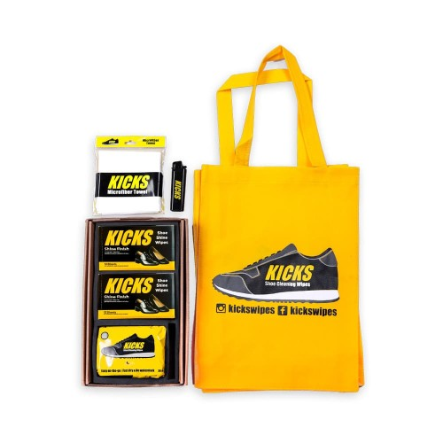 Foto Produk Kicks Special Package - Cleaning Wipes & Shoeshine Wipes - A dari KICKS Official