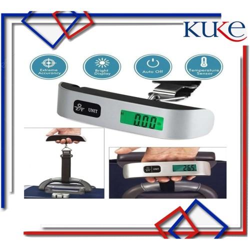 Foto Produk Timbangan Koper Tas Bagasi Gantung 50KG Luggage Scale High Quality dari KUKE