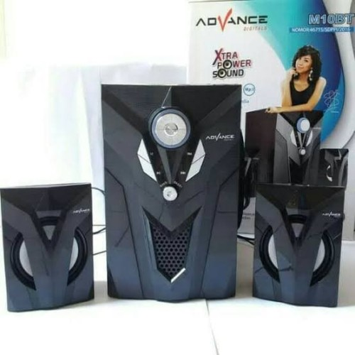 Foto Produk Speaker Advance Aktif Portable M10BT Bluetooth Subwoofer BASS -T403 dari citra ac dan elektronik