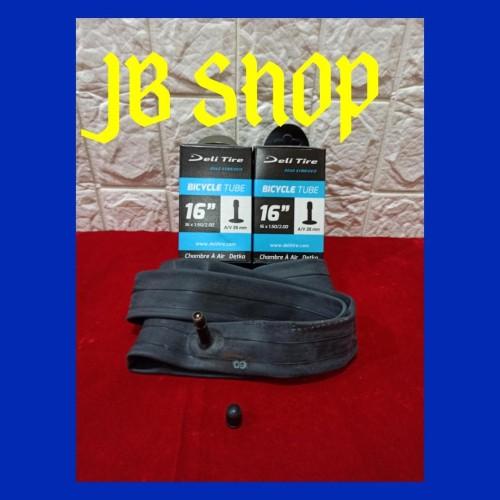Foto Produk BAN DALAM SEPEDA 16 X 150 175 195 200 SWALLOW DELI TIRE 16X150 16X175 dari JB Shop 1