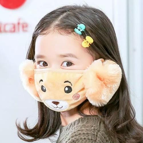 Foto Produk Masker Anak Karakter Penutup Mulut + Kuping.. Anti Debu & Virus dari FASHIONROSE
