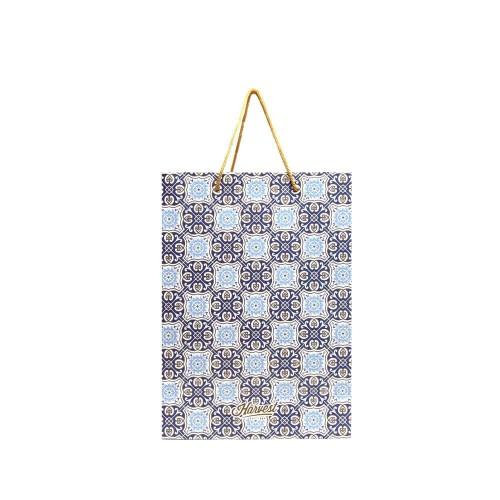 Foto Produk Tas Kertas / Paper Bag Etnik / Lebaran - Idul Fitri Karunia 01 Blue dari Harvest Goods