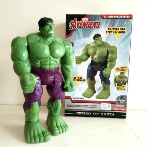 Foto Produk Mainan Anak Robot Hulk Avengers Marvel Bisa Jalan dari StoryOfToys