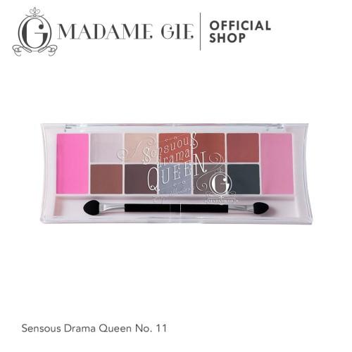 Foto Produk Madame Gie Eyeshadow Sensous Drama Queen 11 dari Madame Gie Official