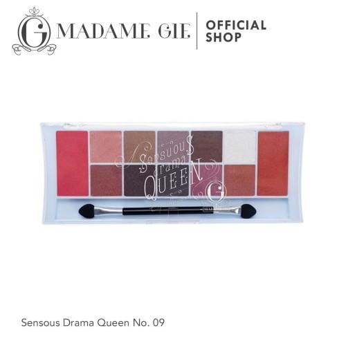 Foto Produk Madame Gie Eyeshadow Drama Queen Nomor 09 dari Madame Gie Official