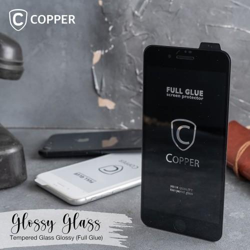 Foto Produk Oppo A9 (2020) - COPPER Tempered Glass Full Glue PREMIUM Glossy dari Copper Indonesia