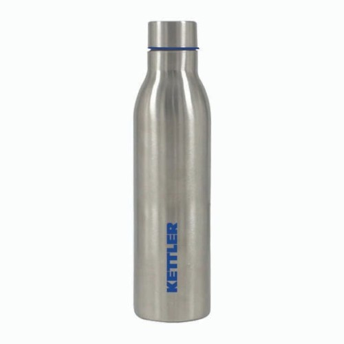 Foto Produk BPA-FREE Stainless Steel Water Bottle Silver Blue KETTLER - ORIGINAL dari DNA Sport & Music