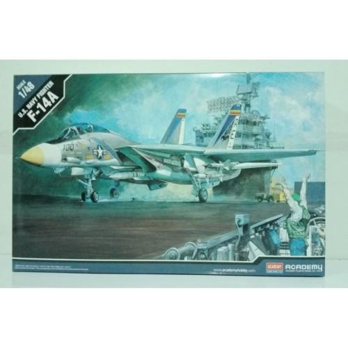 Foto Produk Mainan Rakitan ACADEMY AM-12253/1659 1/48 F-14A TOMCAT dari Jiwoo Toys