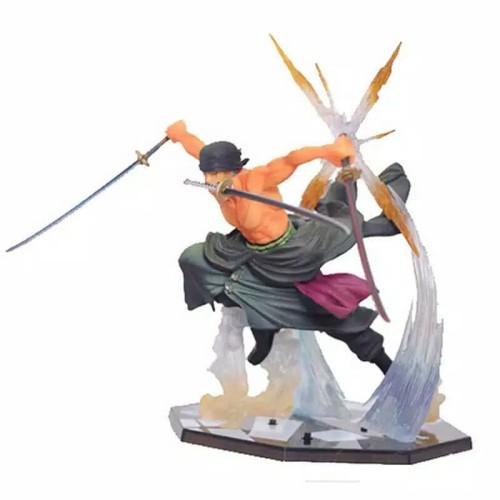Foto Produk Action Figure One piece Roronoa Zoro Battle Edition dari Rania Store16