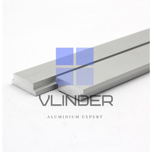 Foto Produk Aluminium Miter Track Bar Slider for Router and Table Saw - Silver, 10 cm dari Vlinder Aluminium
