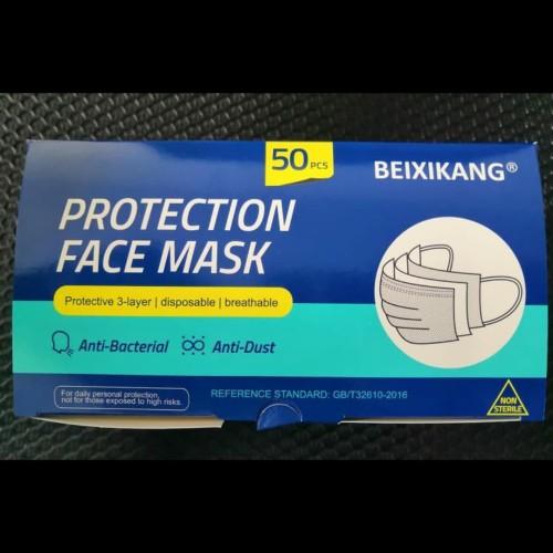 Foto Produk Masker kesehatan 3 ply isi 50 pcs / 3ply earloop , ADA BOX dari Cozy Shop