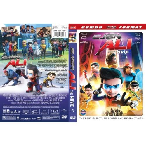 Foto Produk DVD Film Animasi : Ejen Ali The Movie (2019) Gratis 1 dari Laris Jaya Glodok