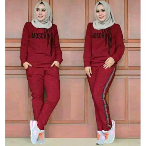 Foto Produk Setelan wanita hits trendy promo hotsale new muslim fashion collection dari kadistore