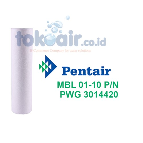 "Foto Produk PENTAIR Meltblown 01 Mikron 10"" dari Toko Filter Airindo"