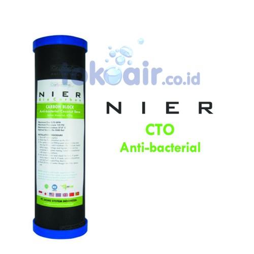 Foto Produk NIER Anti-bacterial (CTO) Carbon Block Cartridge 10inch dari Toko Filter Airindo
