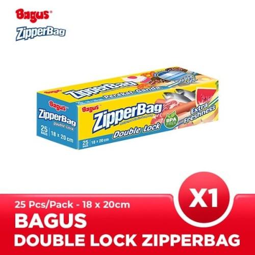 Foto Produk Bagus Zipperbag 25's - 18 cm x 20 cm dari Bagus Official Store