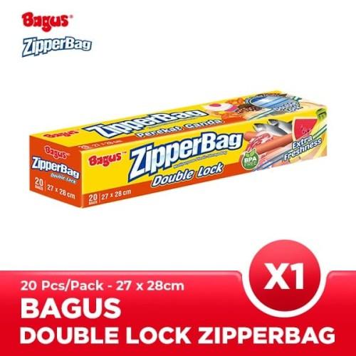 Foto Produk Bagus Zipperbag 20's - 27 cm x 28 cm dari Bagus Official Store