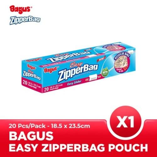 Foto Produk Bagus ZipperBag With Pouch 18.5 X 23.5 CM 20's dari Bagus Official Store