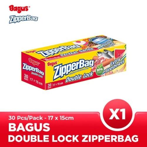 Foto Produk Bagus Zipperbag 30's - 17 cm x 15 cm dari Bagus Official Store